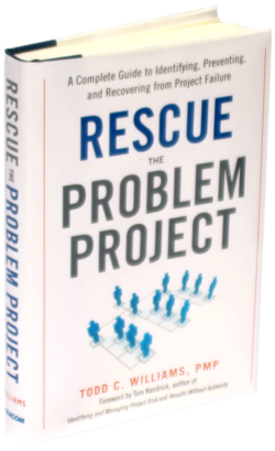 Rescue the Problem Project Book Cover